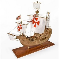 1409 SANTA MARIA - 1492 Nava amiral al lui Columb, Navomodel Amati, Scara 1:65 - Lungime 54cm