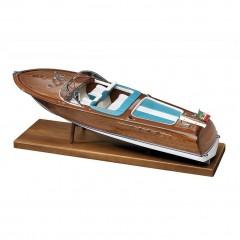 1608 ITALIAN RUNABOUT - 1970 (Tip Riva Aquarama), Navomodel Amati, Scara 1:10 - Lungime 85cm