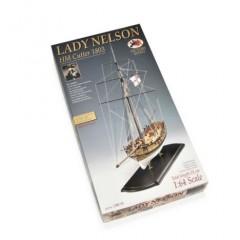 1300/01 LADY NELSON - Salupa - Secolul XVIII, Navomodel Victory Models, Scara 1:64 - Lungime 53cm