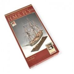 1300/03 HMS FLY 1776 - Goeleta - Navomodel Victory Models, Scara 1:64, Lungime 80cm