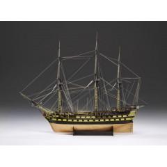 1300/04 HMS Vanguard, 1787- nava de lupta cu 74 de tunuri, Navomodel Victory Models, Scara 1:72 - Lungime 117cm