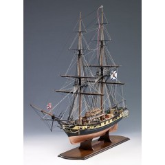 1300/06 MERCURY - Bric rusesc 1820, Navomodel Victory Models, Scara 1:64 - Lungime 80cm - Inaltime 65cm