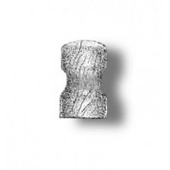 4910/05 Set 10 babale din lemn pt navomodele, 5mm, Amati