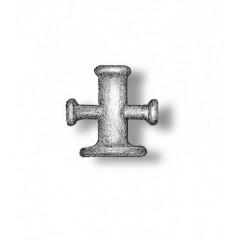 4912 Set 2 babale in cruce pt navomodele, 7mm, Amati