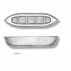 4300/50 Barca din plastic pentru navomodele, 50mm, Amati