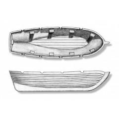 4305/07 Barca din plastic pentru navomodele, 70mm, Amati
