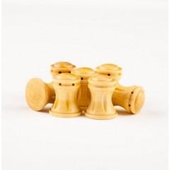 4116/02 Cabestan vertical din lemn pt navomodele , 16mm, Amati