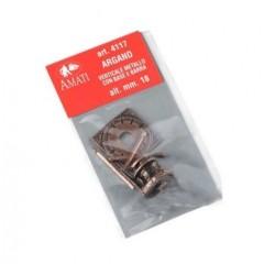 4117 Cabestan vertical din metal, 18mm, Amati