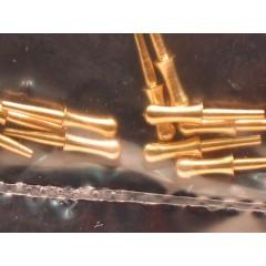 4101/09 Set 20 cavile din alama, 9mm, Amati