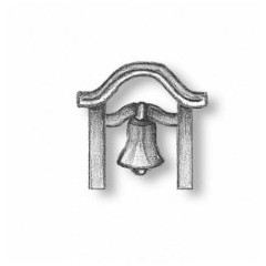4141/02 Set suport si clopot navomodele 23mm, Amati