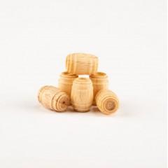4120/10 Set 5 Butoaie din lemn pentru navomodele. Amati