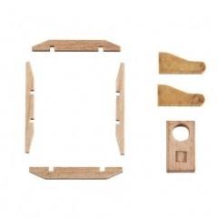 4296/03 Gabie din lemn de tip englez pentru navomodele, Amati