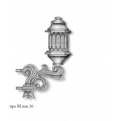 4338/03 Felinar pupa navomodele, Tip M, 30mm