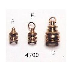 4700/02 Lanterna de gabie din alama, Tip B 8mm, Amati