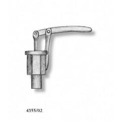4355/02 Set 2 pompe simple din metal pentru navomodele, 13mm, Amati