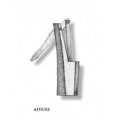 4355/03 Set 2 pompe simple din metal pentru navomodele, 7mm, Amati