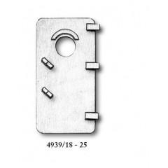 4939/25 Set 2 tambuchi/usi metalice pentru navomodele, Amati