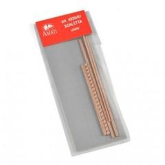 4320/01 Kit scara din nuc pt navomodelism, 2x70mm, Amati