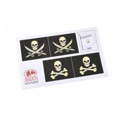 5700/09 Steag de pirat, Amati