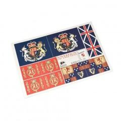 5700/13 Steag Suveranul marii, Amati