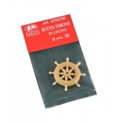 4353/30 Timona din lemn pentru navomodele, 30mm, Amati