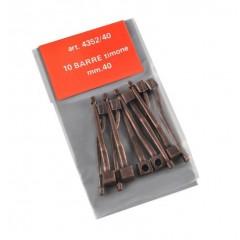 4352/40 Bara timona din metal pentru navomodele, 40mm, Amati