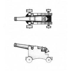 4155/40 Set 10 tunuri cu afet din plastic pentru navomodelism, Amati