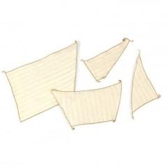 5618/10 Material textil pentru vele navomodele Bomb Ketch, Amati