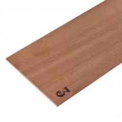2345/03 Foaie de lemn de mahon pentru modelism, 3x100x500mm