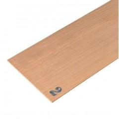 2346 Foaie de lemn de nuc pentru modelism, 100x1000mm