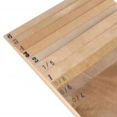 2316 Placaj mesteacan AVIO, 122x40 cm, 3 straturi