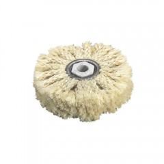 2098000 Disc lustruire/polisare din sisal, Ø 85mm, ax Ø 10mm