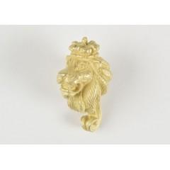 5600 Figurina cap de leu din metal, Amati