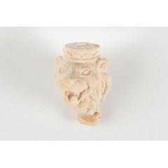 5604 Figurina cap de leu din lemn, Amati