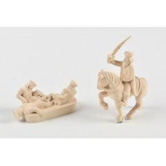 5605 Figurina suveran din lemn, Amati