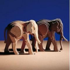 A300/03 Pui de elefant din lemn, Amati
