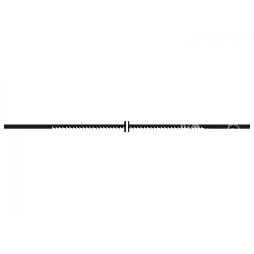 Proxxon 28116 - Panze fara pin pentru traforaje, 14 TPI, 12 buc