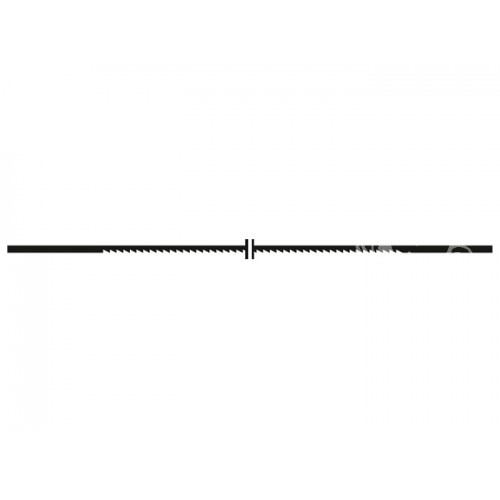 Proxxon 28118 - Panze fara pin pentru traforaje, 34 TPI, 12 buc