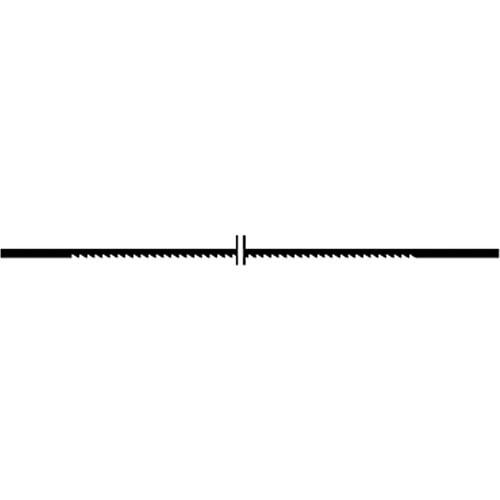 Proxxon 28112 - Panze fara pin pentru traforaje, 36 TPI, 12 buc