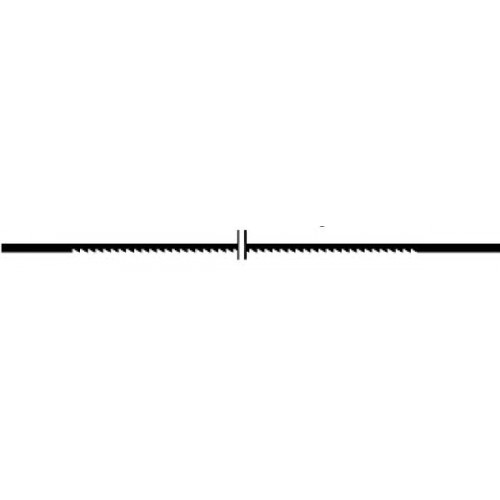 Proxxon 28114 - Panze fara pin pentru traforaje, 50 TPI, 12 buc