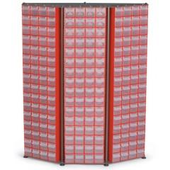 C.D. 13 Stand  cutii organizare / depozitare piese