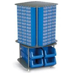 CKD. 11 Stand mobil cutii organizare / depozitare piese