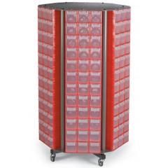 CKM. 50 Stand mobil cutii organizare / depozitare piese