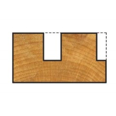 3822000 Freza canal pentru lemn,diametru taiere Ø 14 mm, Wolfcr