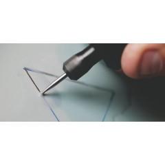 7105 Freza cu varf diamantat, 4,4mm, Dremel