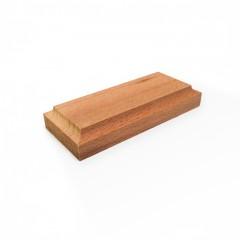 8042 Baza lemn 90x40mm pt modele/figurine modelism.