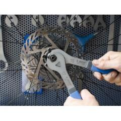 1617/2DP Chei simple pentru ax roata bicicleta, 13mm