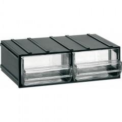 412 Cutii cu sertare transparente 192x148x63mm