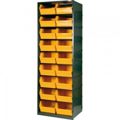 1105/190 Dulap 18 cutii depozitare, 659x538x1900mm