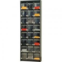 60/24  Dulap 24 cutii transparente depozitare, 640x170x1900mm